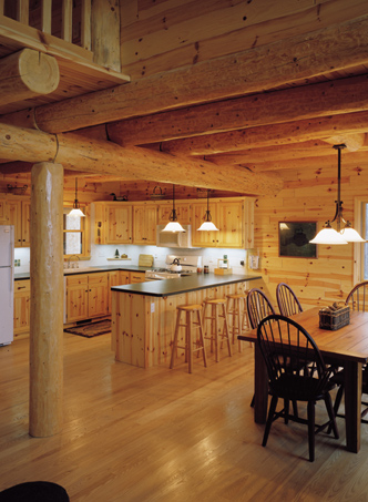 Knotty Pine Natural Wood: Knotty Pine Stain