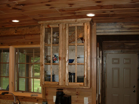 how to give pine timber a distress ed look