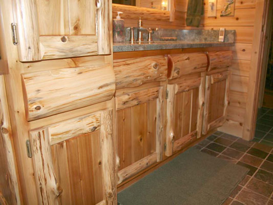 Timber Country Cabinetry Rustic Log And Panel